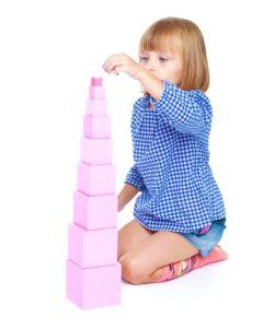 Présentation de La tour Rose dans la pédagogie Montessori