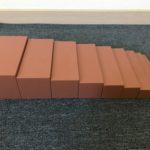 Présentation de l'escalier marron – Activité montessori