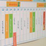 La poutre du temps Montessori