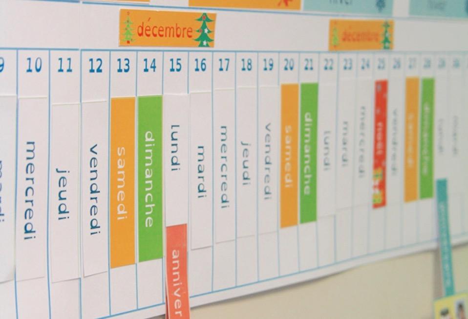 La poutre du temps Montessori : Qu'est-ce que c'est ? Pourquoi faire ?