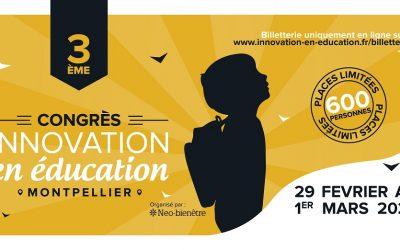 Congrès de l'innovation en éducation : rendre à l'éducation le rôle qu'elle mérite