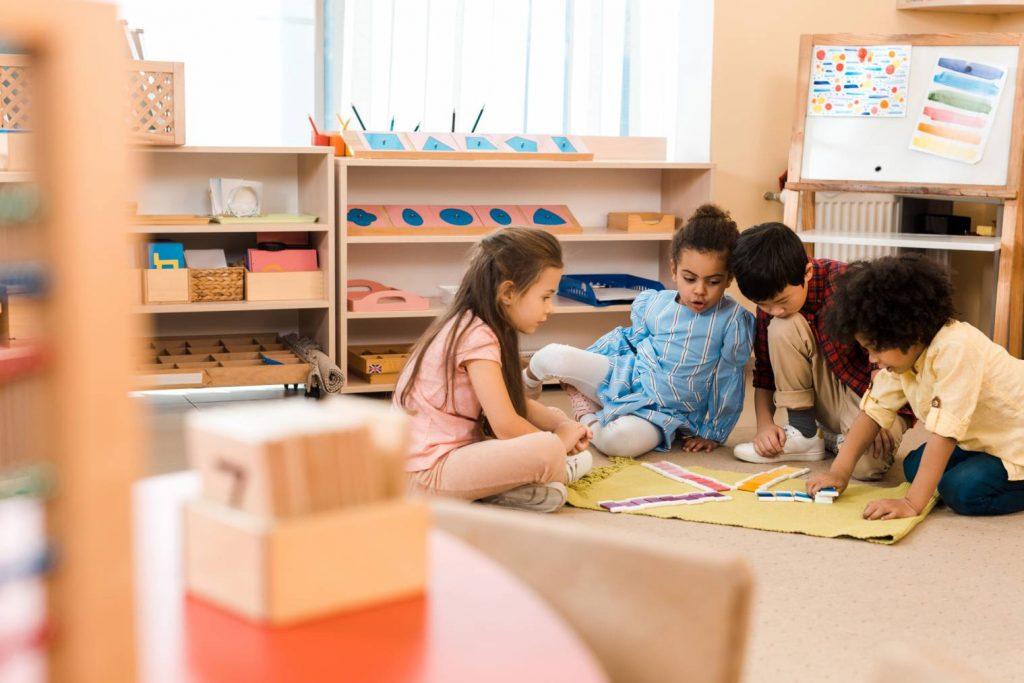 La pédagogie Montessori dans une école à Levallois-Perret