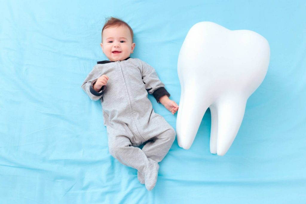 La poussée dentaire : Le développement des dents de bébé